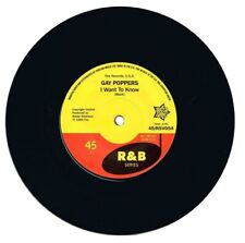 GAY POPPERS I Want To Know/You Got Me Up Tight R&B Northern Soul