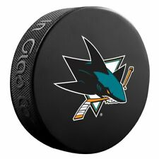 San Jose Sharks Primary Team Logo Basic Collectors Souvenir NHL Hockey Game Puck