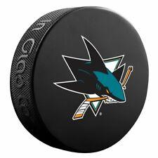 San Jose Sharks Primary Team Logo Basic Collectors Souvenir Nhl Hockey Game Puck