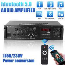 2000W HiFi Verstärker bluetooth 5 Kanal Stereo Heimkino Power Amplifier FM Radio