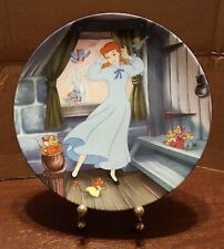 """Disney Cinderella Collector Plate """"A Dream is a Wish your heat Makes"""" by Knowles"""