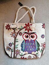 Equilibrium Owl Tote canvas bag