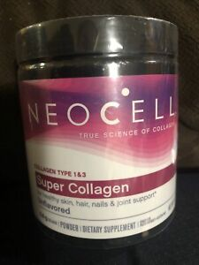 NeoCell Super Powder Collagen Type 1 & 3 Hair Skin Joints Bones Nails Care 7 Oz