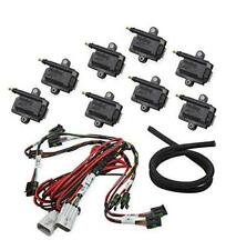 Holley EFI 556-128 Coil-Near-Plug Smart Coil V8 Kit Incl. Coils/Wiring Harness/C