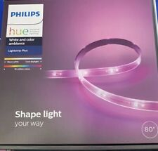 Philips Hue White and Color Ambiance LightStrip Plus Led Smart Light