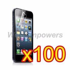 100x Pcs Bulk Package Clear Film Guard Screen Protector Apple iPhone 5 5s 5c SE