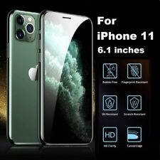 4D Full Coverage REAL Tempered Glass Screen Protector for iPhone 11 CLEAR