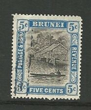 Brunei: 1907; Scott 21 used. BRU04