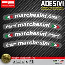 Adesivi Stickers Kit MARCHESINI FORGED WHEELS CERCHI RUOTE MOTO DUCATI APRILIA