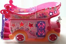 MY LITTLE PONY Star Song Mobile Stage Party Bus Van Pink Orange Car Hasbro 2007