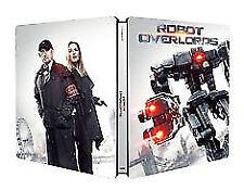 Robot Overlords - Steelbook Blu-Ray NEW BLU-RAY (SIG369)
