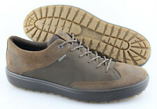 Men's ECCO 'Soft 7 Tred' Brown Leather Gore-Tex Sneakers Size US 11 EUR 45