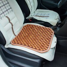 1x Summer wooden beads car seat cushion For Auto Car & Office Chair Seat Cover