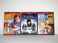 3 American Girl Deluxe Edition Movies on DVD Samantha Saige and Kit