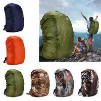 GI- Outdoor Sports 35-80L Portable Waterproof Backpack Bag Rain Cover Travel Bag