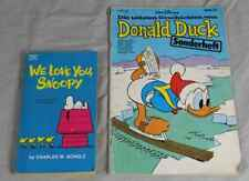 "Buch: Comic Heft DONALD DUCK 1977 + Comic Buch ""We love you, Snoopy"" 1962  /S278"
