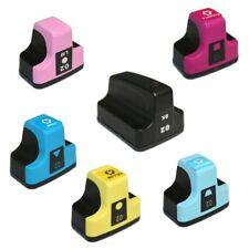 6 Pk High-Yield HP 02 Ink Cartridges for PhotoSmart C5180 6200 7200 D7280...