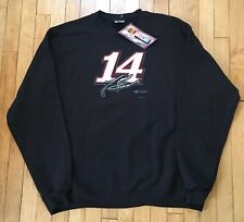 New Tony Stewart #14 XL Black Sweatshirt NASCAR Racing
