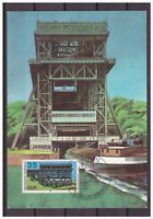 "DDR, Maximumkarte ""Technische Denkmäler"" MiNr. 3205, 1988 ESSt"