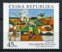Czech Republic Art Stamps 2019 MNH Ota Janecek Paintings 1v Set