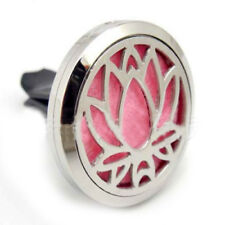 316L Stainless Steel Car Clip Perfume Aromatherapy Essential Oil Diffuser V8R9