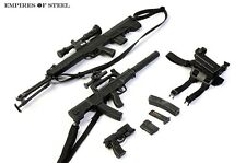 """1/6 Scale Distressed Sniper Rifle Pistol Gun Model Toy F/12"""" Action Figure Doll"""