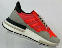 Adidas Originals ZX 500 RM Boost Solar Red Lifestyle Sneaker DB2739 Mens Sz 8