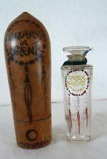 """Flacon ancien de Parfum """"MADERAS DE ORIENTE"""" DE MYRURGIA (1918) Par Julien Viard"""