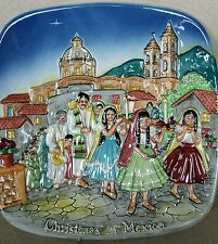 Royal Doulton Beswick Limited Edition 1973 Christmas In Mexico Plate