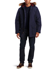 New Authentic Woolrich Mens Deep Navy Arctic Parka Jacket 550 Fill 16107 XXL