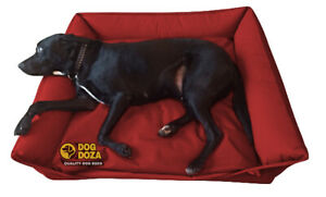 Dog Doza Settee Sofa Bed, 100% Waterproof, Premium Bolster Dog Mattress UK Made