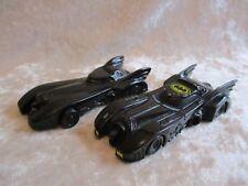 1992 Applause Batmobile and 1989 Ertl Batmobile