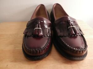 Pair of Bass-Weejuns Burgundy Loafers