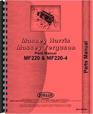 Massey Ferguson 220 220-4 Tractor Parts Manual (MH-P-MF220+)