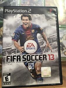 FIFA 13 PS2 Playstation 2 MEXICO RARE RELEASE ESRB good condition complete NTSC
