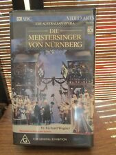 The Australian Opera Die Meistersinger Von Nurnberg Richard Wagner Video Tape