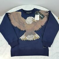 ROCK YOUR BABY | Kid Boys Winged eagle Jumper NEW [ Size 6 ]