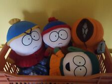 Official South Park plush toys. 4 characters: Stan, Kyle, Eric & Kenny, 1998
