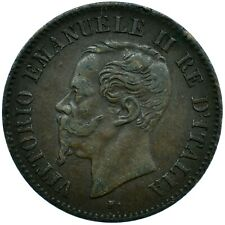More details for coin / italy / 2 centesimi 1867m aunc beautiful      #wt24290