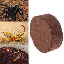 Reptile Coconut Fiber Substrate Bricks Natural Beddings