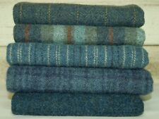 """HAND DYED RUG HOOKING WOOL Mill-Dyed ~ """"ALL AMERICAN BLUE JEANS-II"""""""
