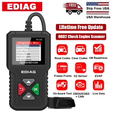 OBD2 EOBD Scanner Code Reader Check Car Engine Fault Code Auto-Diagnostic Tool