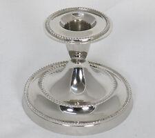 Kerzenhalter Silber verziert Kerzenleuchter Tischleuchter Tischdeko