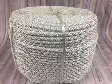 14mm x 220 Meter Spule 8 Strang Achtfach Geflecht Weiß Nylon Seil ,