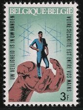 Belgium Scott #698, Single 1968 Complete Set Fvf Mnh