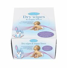 Purely Baby Dry Wipes & Nappy Liners