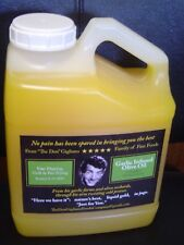 one gallon garlic flavored cooking oil, pan,grill,deep frying, restaurant / home