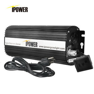iPower 400W 600W 1000W Digital Dimmable Electronic Ballast for HPS MH Grow Light