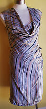 +++Nougat Silky Cowl Neck Dress S/1 NWT RRP $399.00+++