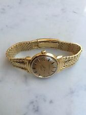 Men's Vintage Omega Constellation-Grand Luxe, 18K Yellow Gold Date Auto Watch